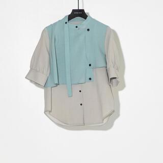 ステュディオス(STUDIOUS)のunited tokyo ハーフタイショートボリューム袖 ブラウス(シャツ/ブラウス(半袖/袖なし))