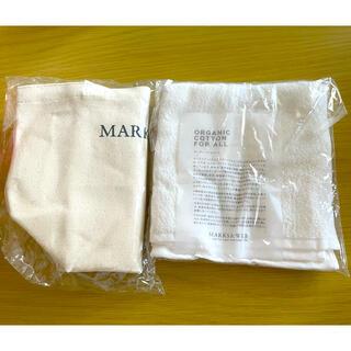 マークスアンドウェブ(MARKS&WEB)のMARKS&WEB トートバッグ&ハンドタオルセット(日用品/生活雑貨)
