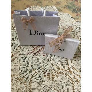 ディオール(Dior)のディオール Dior ショッパー 紙袋 プレゼントロデオボックス リボン(ショップ袋)