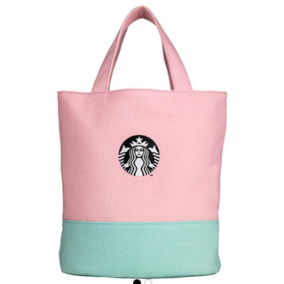 スターバックスコーヒー(Starbucks Coffee)のスターバックス Starbucks マカロンピンク トートバッグ (トートバッグ)