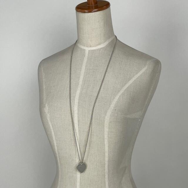 Tiffany & Co.(ティファニー)のティファニー リターン トゥ ハート タグ ネックレス シルバー925 【中古】 レディースのアクセサリー(ネックレス)の商品写真