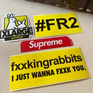 Supreme - supreme & FR2 Sticker set ⬜︎ #sft5