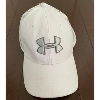 UNDER ARMOUR - アンダーアーマー 帽子 キャップ(白)