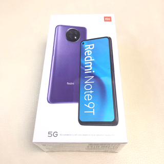 ANDROID - Xiaomi Redmi Note 9T 64GB ブラック