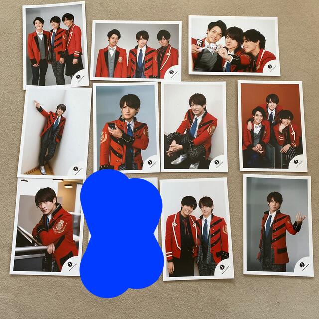 ジャニーズJr.(ジャニーズジュニア)の平野紫耀 Mr.KING 公式写真 エンタメ/ホビーのタレントグッズ(アイドルグッズ)の商品写真