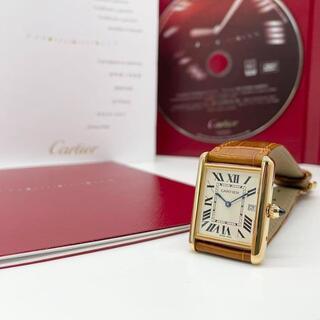 Cartier - 【大人気】カルティエ タンクルイLM 750 メンズウォッチ 腕時計 Q7