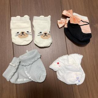 プティマイン(petit main)のベビー靴下セット 7〜8(靴下/タイツ)