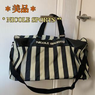 【レア美品】ゴルフ・スポーツ・旅行のお供に《ニコルスポーツ》大容量バッグ(旅行用品)