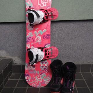 ケーツー(K2)の●K2●スノーボード●子供●キッズ●3点セット●90cm●16.5cm●(ボード)