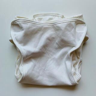 Nishiki Baby - ニシキ 布オムツカバー 白 90 ホワイト 内ベルト