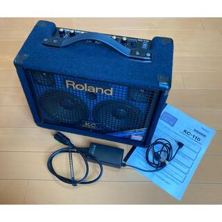 ローランド(Roland)のローランド・ステレオ・キーボード・アンプ KC-110 純正ACアダ付 送料込(ギターアンプ)