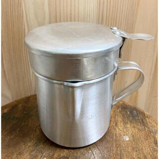 ムジルシリョウヒン(MUJI (無印良品))のFound MUJI 無印良品 オイルポット ポルトガル製 アルミ 未使用(調理道具/製菓道具)