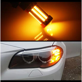 LEDウィンカーフロント/爆光/アンバー/PY24W/BMW E90/E92など