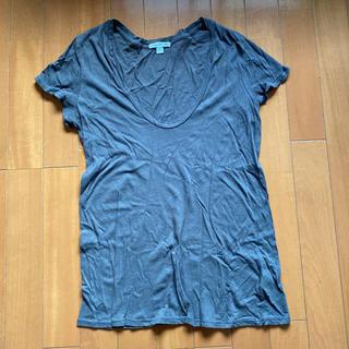 ジェームスパース(JAMES PERSE)のジェームスパース チャコールグレーTシャツ(Tシャツ(半袖/袖なし))