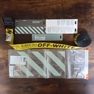 OFF-WHITE - OFF-WHITE オフホワイト Off-White ベルト 3.5cm