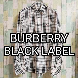バーバリーブラックレーベル(BURBERRY BLACK LABEL)のBURBERRY BLACK LABEL バーバリー ノバチェック 長袖シャツ(シャツ)