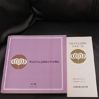 明治百年記念関係行事等概況(その他)