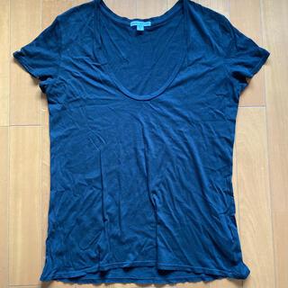 ジェームスパース(JAMES PERSE)のジェームスパース ブラックTシャツ サイズ3(Tシャツ(半袖/袖なし))