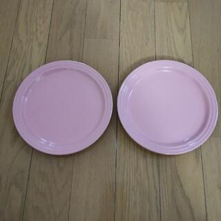LE CREUSET - ルクルーゼ マカロンピンク 皿 2枚