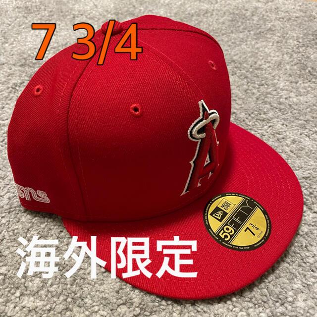NEW ERA(ニューエラー)の【新品未使用】SNS × NEWERA × Angels コラボ 7 3/4 メンズの帽子(キャップ)の商品写真