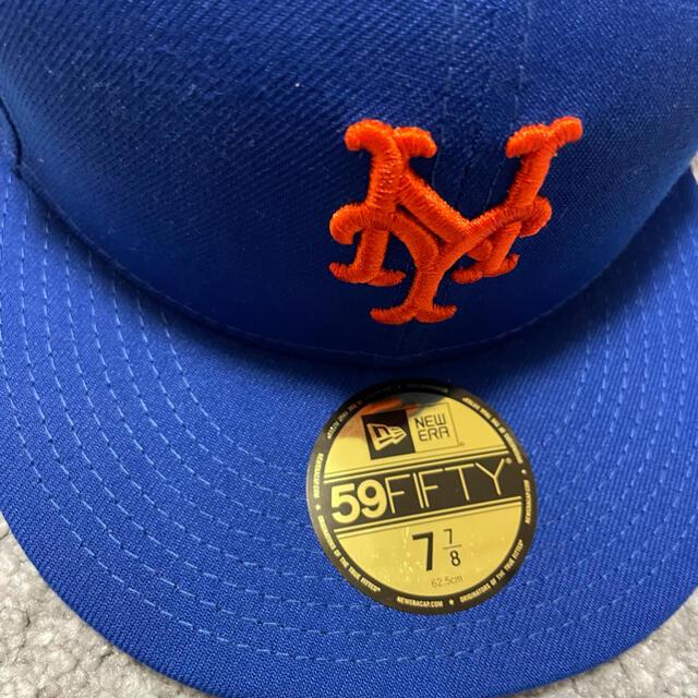 NEW ERA(ニューエラー)の【新品未使用】SNS × NEWERA × NY METS コラボ 7 7/8 メンズの帽子(キャップ)の商品写真