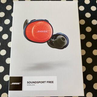 ボーズ(BOSE)のBose SoundSport Free wireless headphones(ヘッドフォン/イヤフォン)