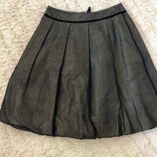 フォクシー(FOXEY)のフォクシー  シルク100%素敵なスカート(ひざ丈スカート)