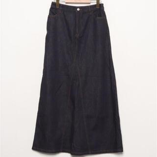 ユニクロ(UNIQLO)の美品◆ N.O.R.C デニムロングスカート(ロングスカート)