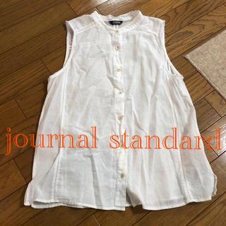 ジャーナルスタンダード(JOURNAL STANDARD)のジャーナルスタンダード ボタン シャツ(シャツ/ブラウス(半袖/袖なし))