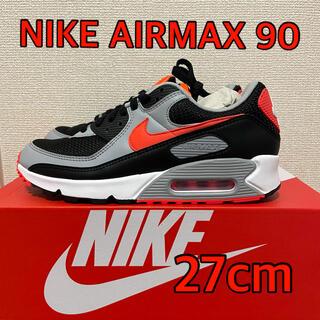 ナイキ(NIKE)の【新品未使用】Nike airmax 90 黒オレンジ 27cm(スニーカー)