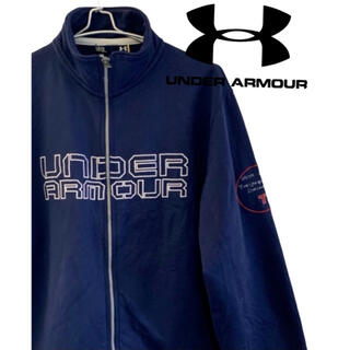 アンダーアーマー(UNDER ARMOUR)のUNDER ARMOUR アンダーアーマー ロゴジャージ トラックジャケット L(ジャージ)