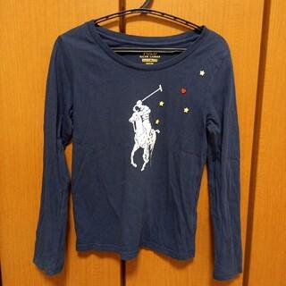 POLO RALPH LAUREN - ラルフローレン キッズ ネイビー ロングTシャツ 130