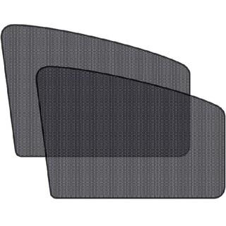 2枚セット 前窓 車中泊 磁石カーテン 車用網戸 マグネット式 遮光サンシェード