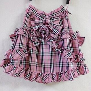 ボディライン(BODYLINE)の未使用 BODYLINE ボディライン チェック柄スカート ロリータ スカート (ひざ丈スカート)