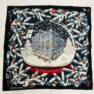 Hermes - エルメス カレ90 スカーフ フォーブル24番地のクリスマス