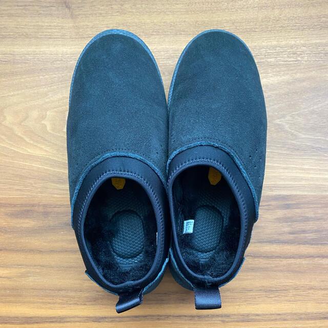 L'Appartement DEUXIEME CLASSE(アパルトモンドゥーズィエムクラス)の【SUICOKE/スイコック】ムートンサボ ブラック 24 レディースの靴/シューズ(スリッポン/モカシン)の商品写真