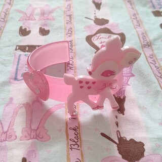 Angelic Pretty - 子鹿のミルキーちゃんバングル