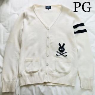 PEARLY GATES - 【美品】PEARLY GATES サイズ1レディース★カーディガン白ゴルフ