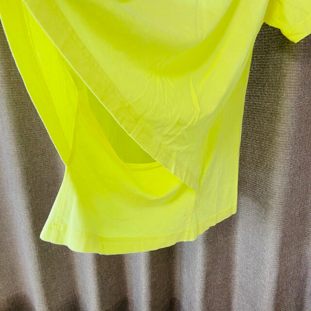 Balenciaga(バレンシアガ)のバレンシアガ 蛍光イエロー 半袖Tシャツ メンズのトップス(Tシャツ/カットソー(半袖/袖なし))の商品写真
