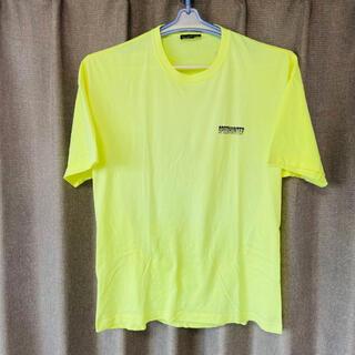 Balenciaga - バレンシアガ 蛍光イエロー 半袖Tシャツ