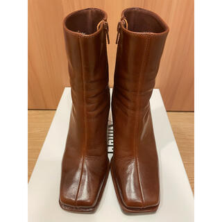 Ameri VINTAGE - AMERI アメリヴィンテージ ブーツ ブラウン Sサイズ