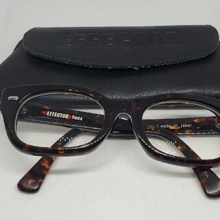 EFFECTOR - EFFECTOR眼鏡 エフェクターメガネ FUZZ ファズ 鼈甲Tor ケース