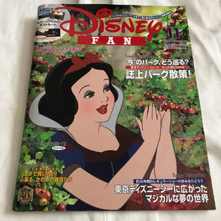 ディズニー(Disney)のDisney FAN (ディズニーファン) 2020年 11月号(絵本/児童書)