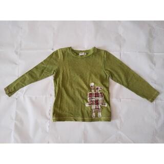 ハッカキッズ(hakka kids)のHakka Kids 長袖 Tシャツ 緑 130cm 子供(Tシャツ/カットソー)