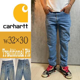 carhartt - カーハート   デニムパンツ 革タグ 32×30 4414