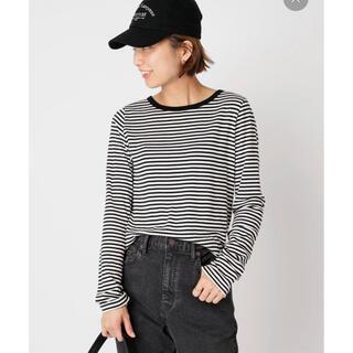 DEUXIEME CLASSE - Stripe Long Sleeve Tシャツ ドゥーズィエムクラス