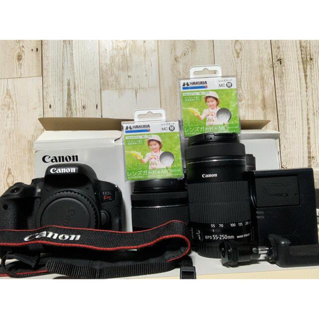 Canon(キヤノン)のCanon EOS Kiss X9i Wズームキット スマホ/家電/カメラのカメラ(ミラーレス一眼)の商品写真