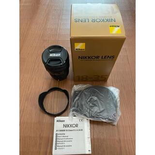 Nikon - Nikon AF-S 18-35F3.5-4.5G ED ニコン 広角レンズ