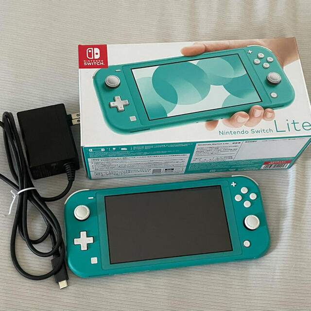 Nintendo Switch(ニンテンドースイッチ)のNintendo switch lite 本体 エンタメ/ホビーのゲームソフト/ゲーム機本体(携帯用ゲーム機本体)の商品写真