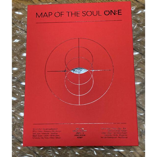 防弾少年団(BTS)(ボウダンショウネンダン)のBTS MAP OF THE  SOUL ON:E 公式 DVD 日本語字幕付 エンタメ/ホビーのDVD/ブルーレイ(アイドル)の商品写真